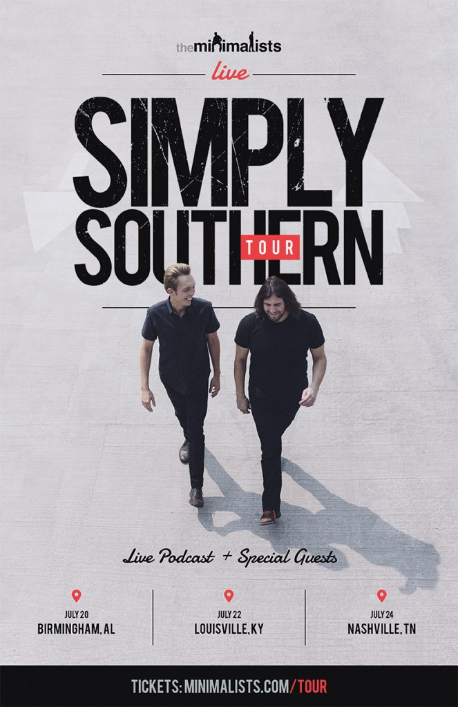 Simply Southern Tour Poster by SPYR